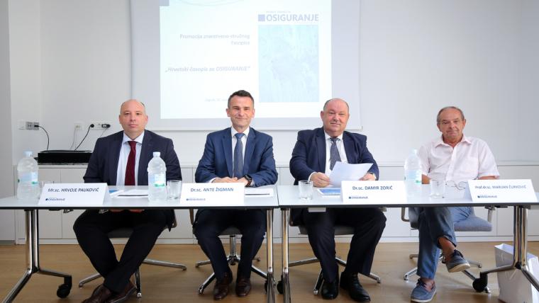 Hrvoje Pauković, Ante Žigman, Damir Zorić i Marijan Ćurković