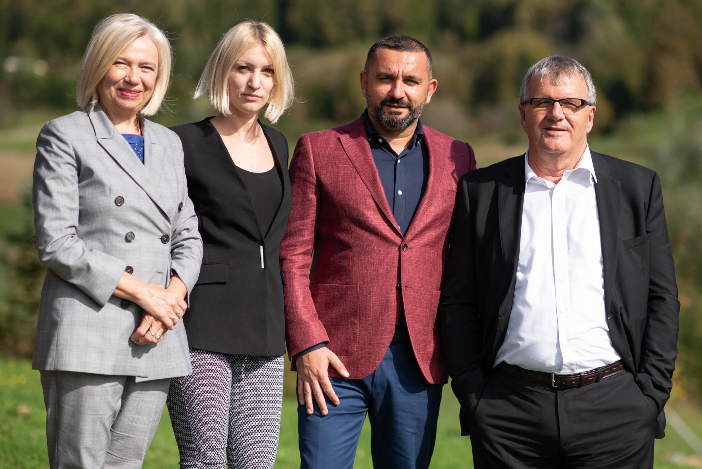 Zvjezdana Blazic, Marina Kresoja, Denis Matijevic, Ivo Grgic_Smarter tim