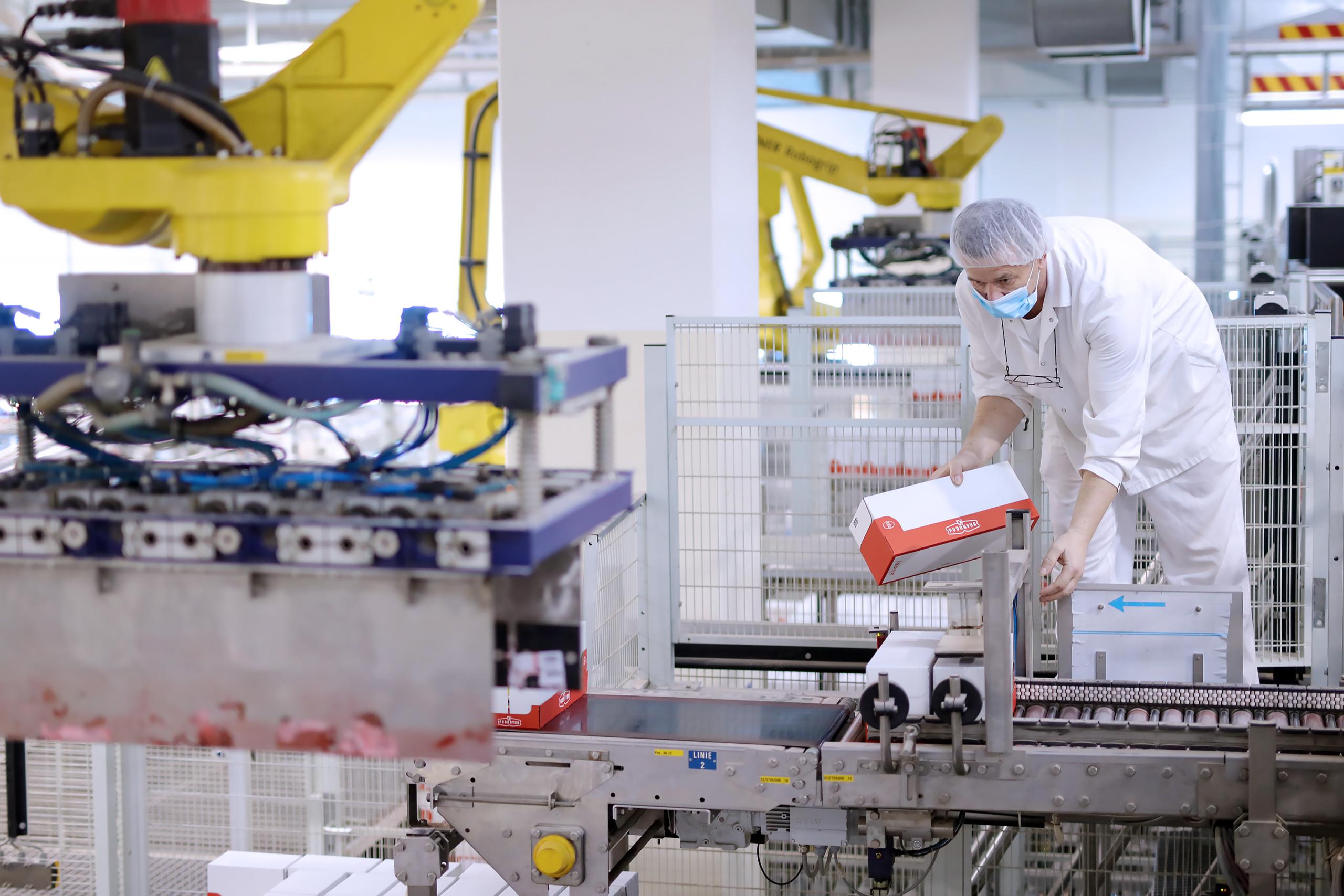 Radnici u Podravkinoj proizvodnji (4)