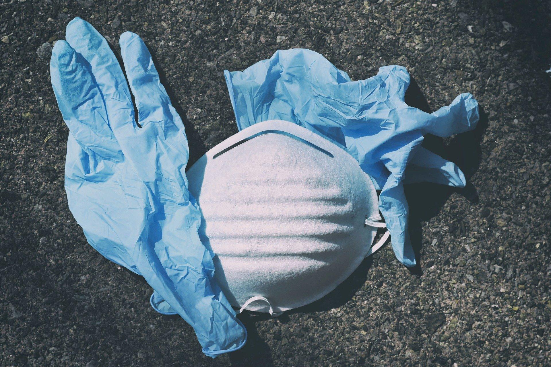 zaštitne maske i rukavice