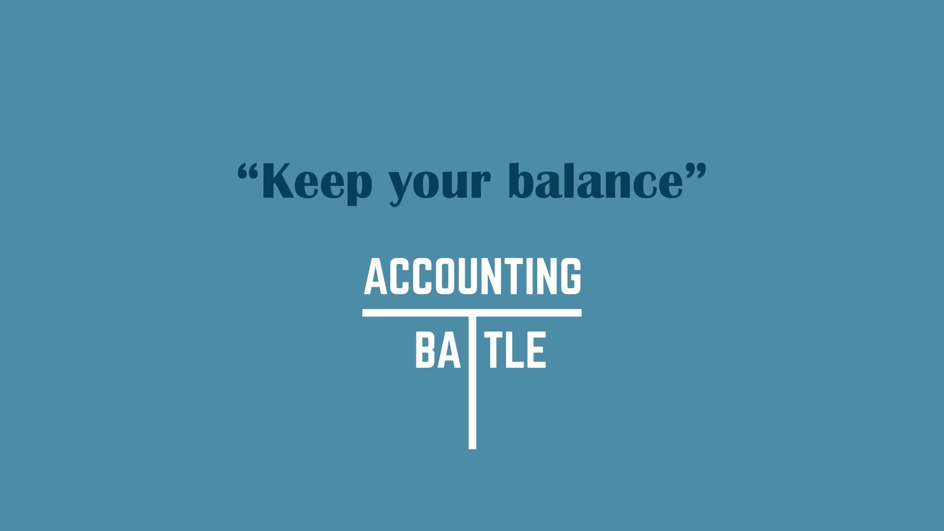 Accounting Battle_ilustracija
