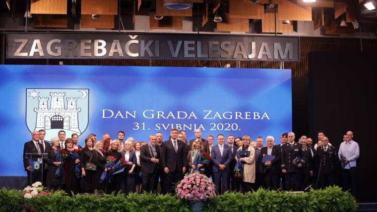 Priznanja grada Zagreba