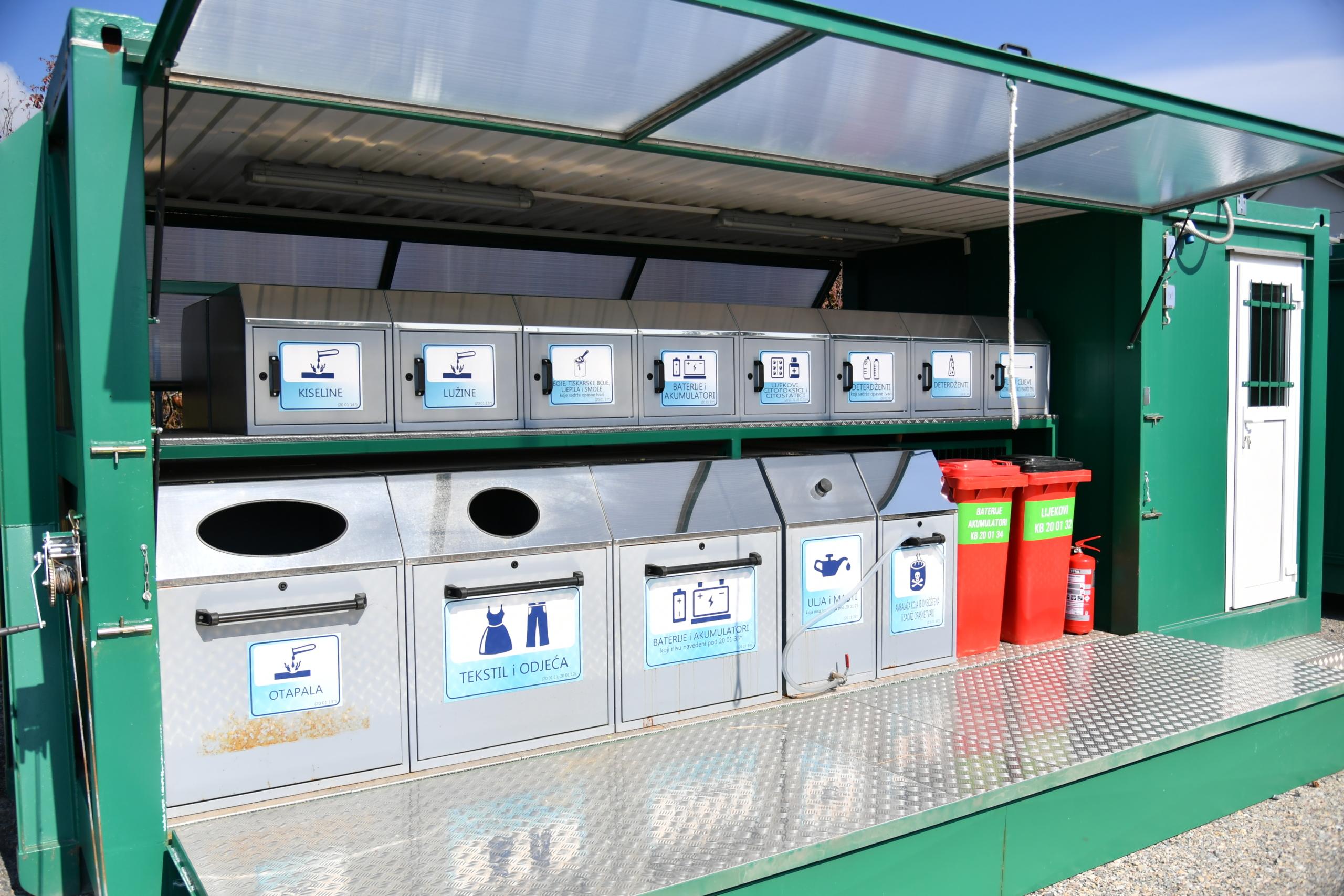 Reciklažno dvorište ZGB