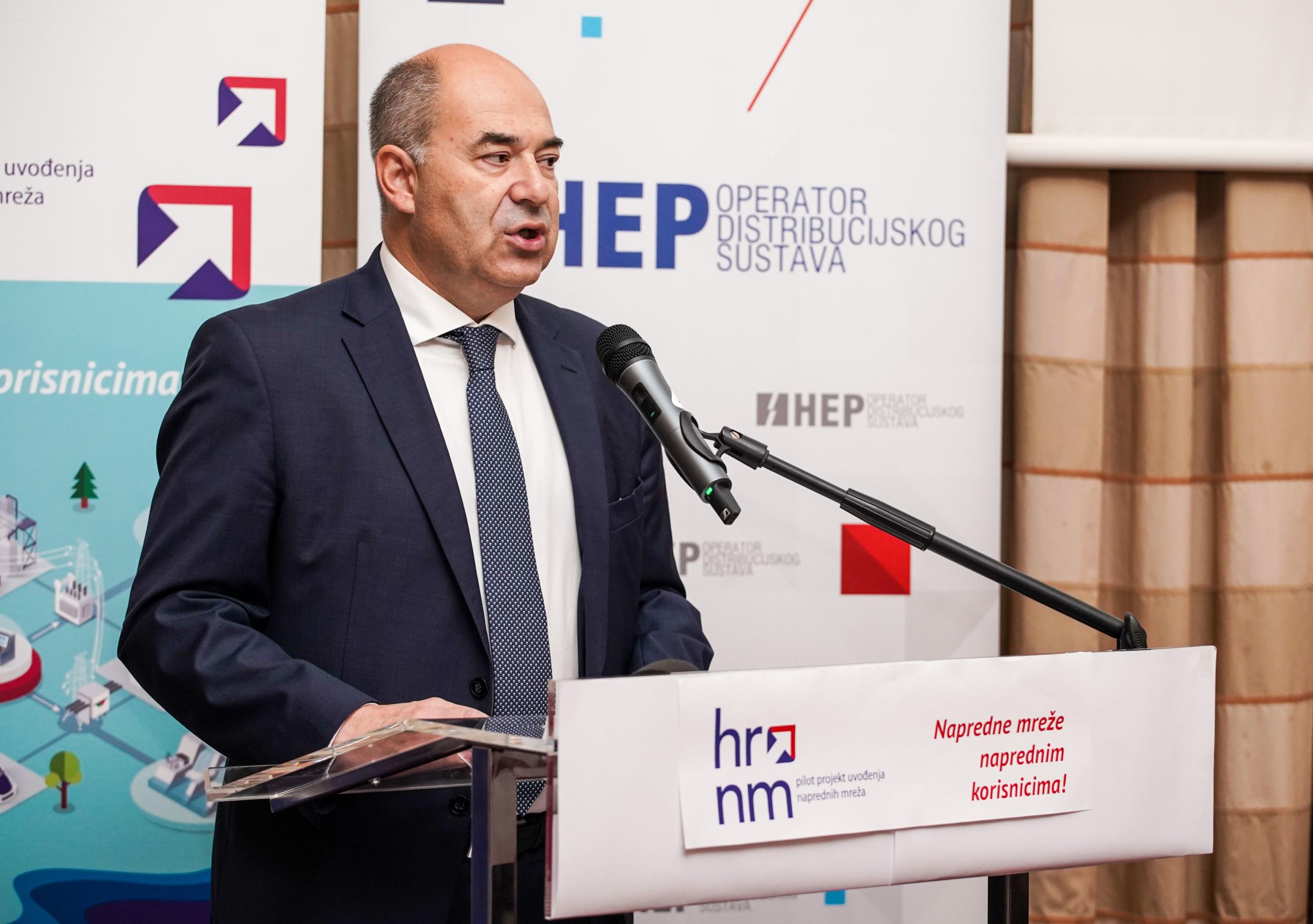 Predsjednik Uprave HEP-a Frane Barbarić