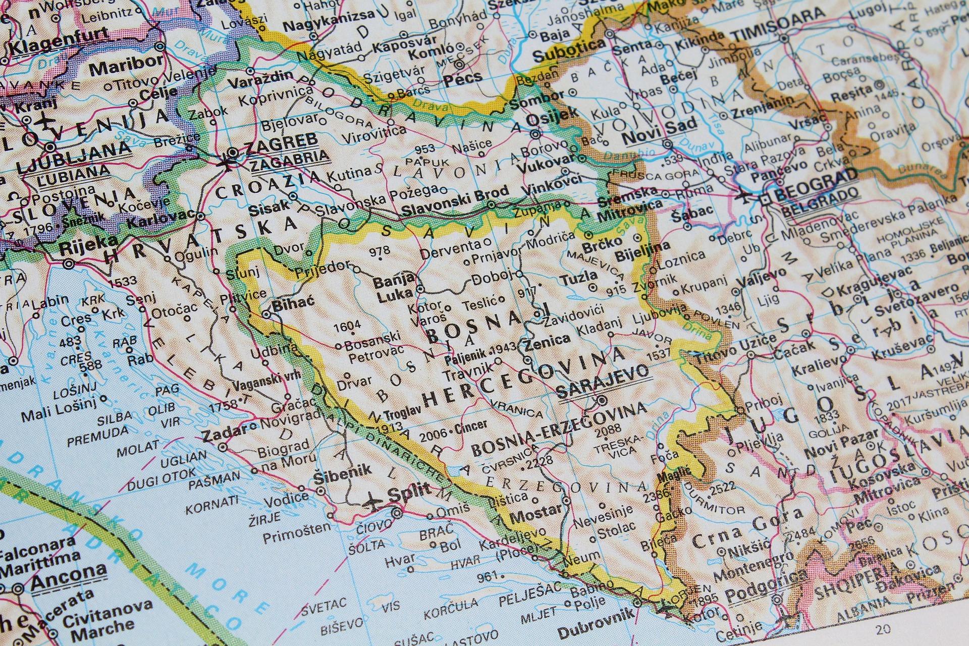 Karta BiH