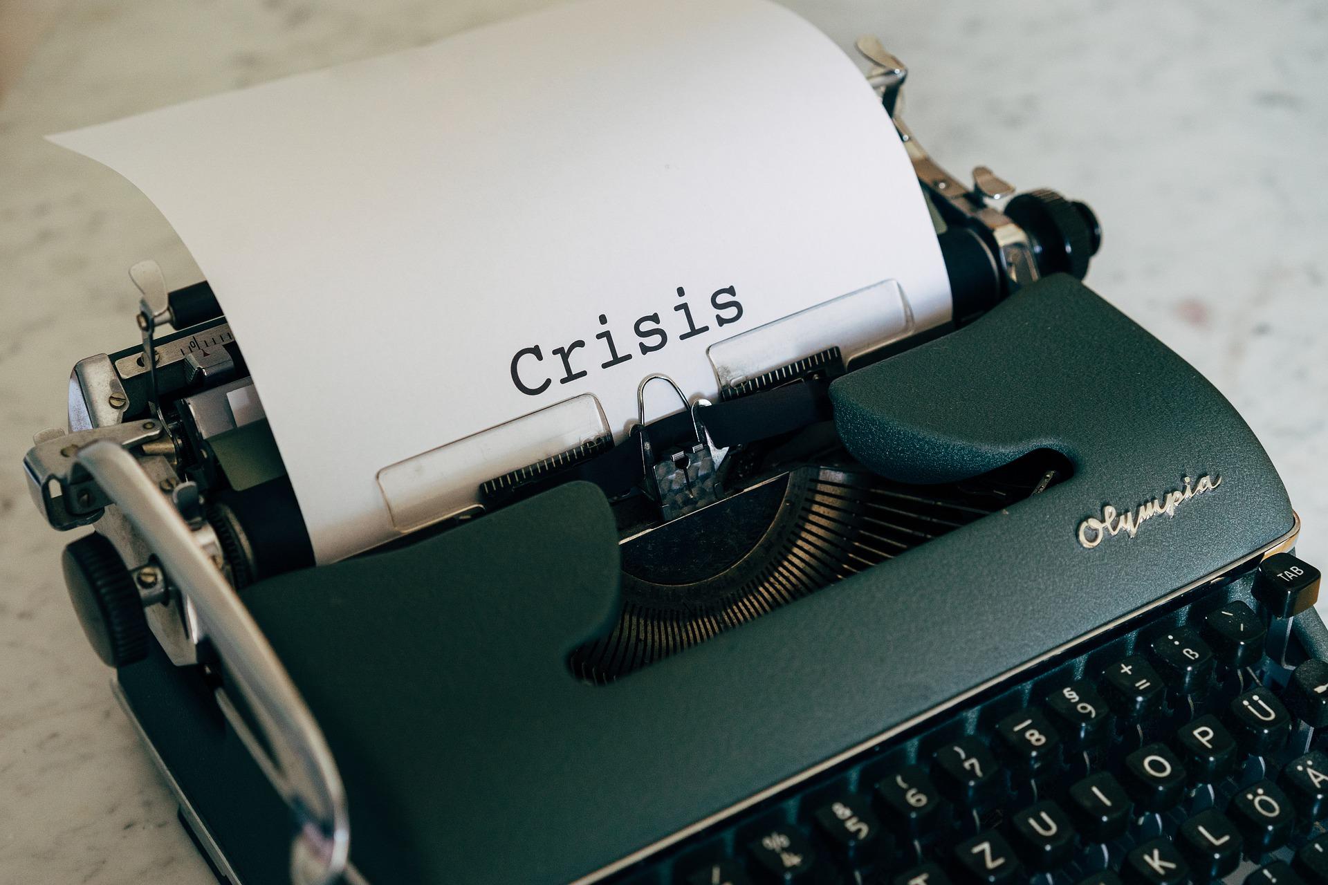 Kriza pisaća mašina