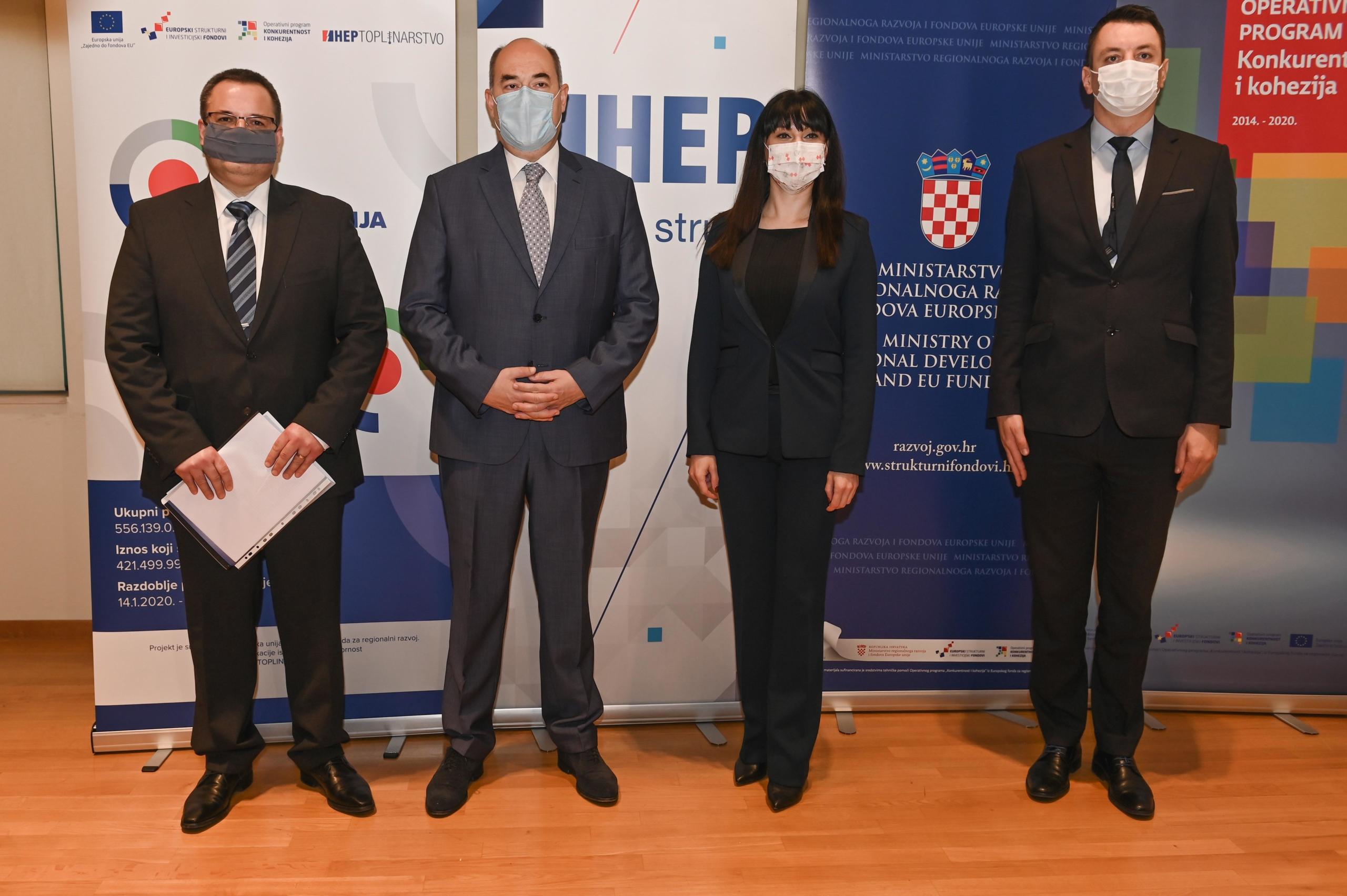 Zdravko Zajec, Frane Barbarić, Nataša Tramišak, Tomislav Petric