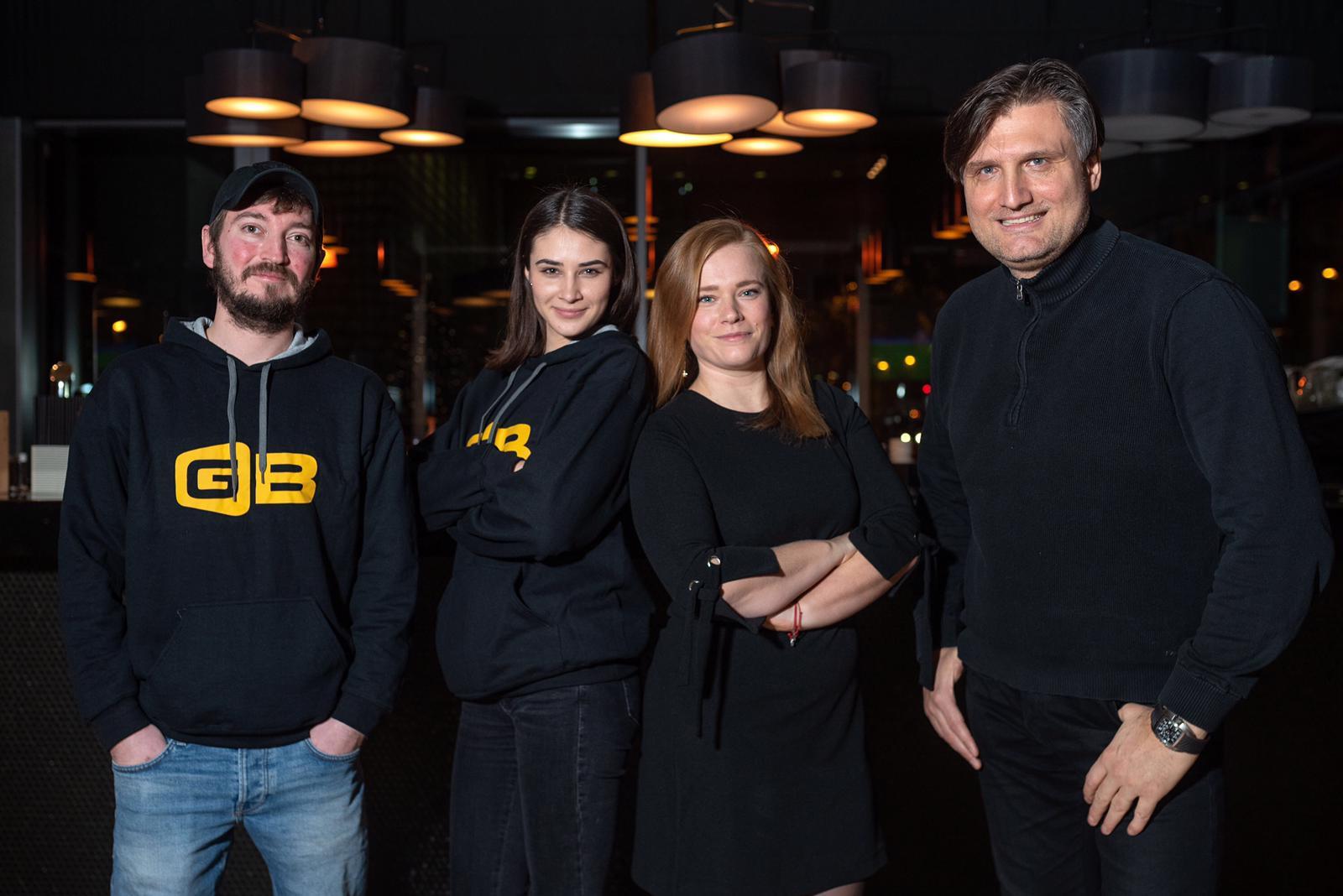 Lovro Lajoš, Paulina Cetina aka Amey, Dunja Trojan, Saša Cvetojević